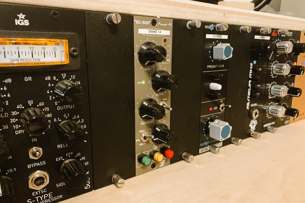 Recording Studio Outboard Gear